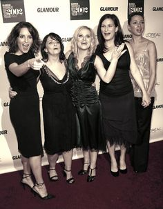 Women of Saturday Night Live. Too much awesome for one picture.