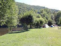 Kleine camping aan de Lot, ook leuk voor pubers