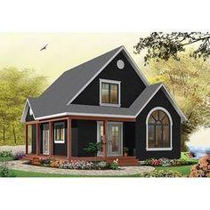 Black House Exterior, House Paint Exterior, Exterior House Colors, House Ideas Exterior, Siding Colors For Houses, Small House Exteriors, Rustic Exterior, Casas Country, Basement House Plans