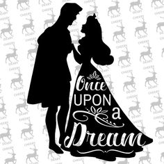 Sleeping Beauty Dream, Disney, Digital File, SVG, DXF, EPS, for use with Silhouette Studio and Cricut Design Space