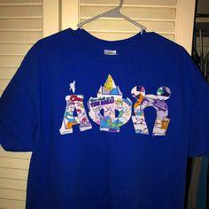 Disney APO letter shirt
