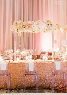 Gorgeous setup at this #pink #uplighting #wedding #reception! #diy #diywedding #weddingideas #weddinginspiration #ideas #inspiration #rentmywedding #celebration #weddingreception #party #weddingplanner #event #planning #dreamwedding by @wedluxe