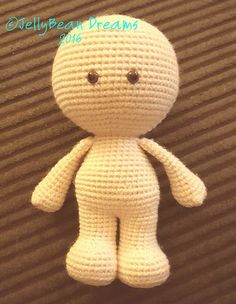 GumDrops Big Head Doll's, is free written crochet pattern in US terms.