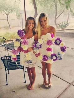 Flirty and floral #ASUAlphaPhi #ASU #AlphaPhi #Floral