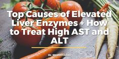Elevated liver enzymes may act as a warning that something is damaging your liver and should never be ignored. Learn what causes elevated liver enzymes, what symptoms you may present with and more importantly how to Liver Detox Drink, Best Liver Detox, Detox Cleanse Drink, Liver Cleanse, Cleanse Diet, Diet Detox, Body Detox, High Liver Enzymes, Elevated Liver Enzymes