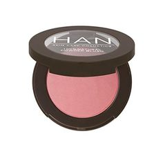 Nourish your skin with Talc Free Blush by HAN, which is made with oil-absorbing rice powder to provide gentle blush that can be worn as eye shadow too. Organic Skin Care, Natural Skin Care, Natural Beauty, Natural Face, Natural Makeup, Makeup Tips, Eye Makeup, Makeup Ideas, Makeup Blush