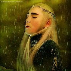 The source of picture screenshot from The Hobbit 3 Movie scene Thranduil was talking with Gandalf and Bard in tent. . . . For anyone who wishes to share my editing anywhere on social media, please ...