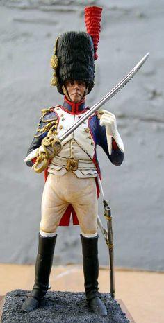 Officier du regiment de grenadiers a cheval de la garde imperiale