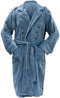 Captian Jack Harkness Bathrobe.... for Towel day? When you have your towel and wear a bathrobe? freaking awesome idea!!