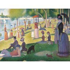 60799 - Puzzle Tarde de Domingo en la Isla de la Grande Jatte, Seurat, 1000 piezas, Gold Puzzle