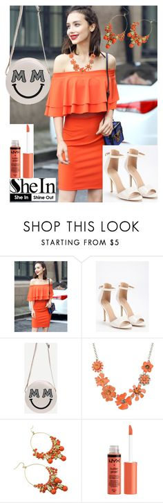 """9/8 shein"" by fatimka-becirovic ❤ liked on Polyvore featuring Shourouk"