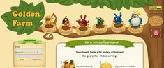 Golden Farm - online investment game with real money withdrawal. Buy birds, sell eggs for real money. Golden Farm, Farm Online, Buy Birds, Free Money, Investing, Birds Online, Earn Money, Tips