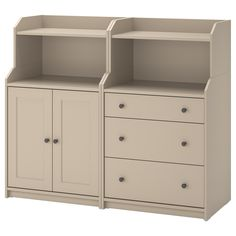 Hauga (IKEA Storage Combination) ( Furniture > Dining Furniture > Dining Storage > Display Cabinets ) #19388690 Dining Furniture, Dresser, Beige, Display Cabinets, Ikea Storage, Table, Home Decor, Products, Powder Room