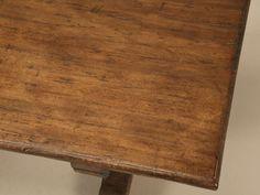 Circa 1840 Italian Trestle Farm Table image 3
