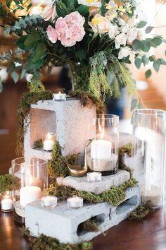 DIY Wedding - Industrial Chic Decor Ideas + Inspiration