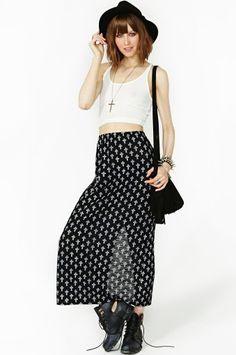 #nastygal.com             #Skirt                    #Cross #Walk #Maxi #Skirt                           Cross Walk Maxi Skirt                               http://www.seapai.com/product.aspx?PID=1502880