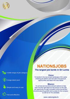 Jobs in Sri Lanka. The largest jobs board in Sri Lanka. Nationsjobs Became the Leading Job Site in The Sri Lanka.