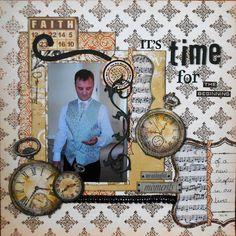 It's time - Scrapbook.com--by Cornish Scrapper --( Marie )