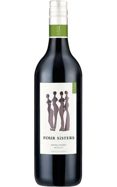 Four Sisters Merlot 2017 Central Victoria - 12 Bottles Four Sisters, Australian Shiraz, Cheap Red Wine, Victoria, Peking Duck, Mushroom Risotto, Diy Projects For Beginners, Chicken Feed, Red Grapes