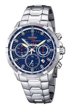 Festina heren horloges   Juwelier de Bokx Wijffels   €179 F6836-3 Staal #festina #herenhorloge #kerstcadeau #JDBW #horloge