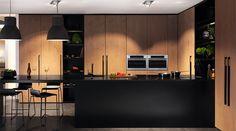 Hvordan lykkes med et svart kjøkken