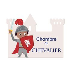 Château fort, épée, cotte de maille...Pour tous les enfants qui rêvent…