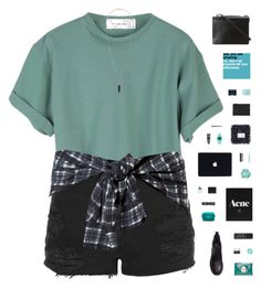 """ONCE UPON A TIME"" by c-hristinep ❤ liked on Polyvore featuring Topshop, H&M, 3.1 Phillip Lim, Mimco, Korres, NARS Cosmetics, Burberry, Safavieh, Timex 80 and Sephora Collection"
