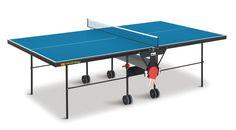 Tavolo da Ping Pong ideale per uso interno realizzato nelle misure regolamentari: Consigliato per l'utilizzo domestico e per l'allenamento anche...