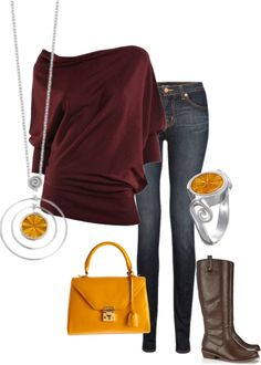 """Burst My Bubble Orange KJP852"" by jewelpop on Polyvore"