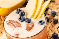 Shredder Blueberry-Pear Smoothie