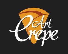 Logo Art Crepe by Raphael Verçosa Holy Crepe, Crepes And Waffles, Food Puns, Logo Food, Art Logo, Retro, Coffee Shop, Logo Design, Pancake