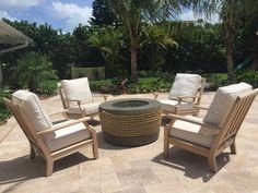 Vero Beach's Sunshine Furniture is your home for casual furniture for your home, patio or pool. Lanai Ideas, Vero Beach, Outdoor Furniture Sets, Outdoor Decor, Pool Landscaping, Patio, Landscape, Home Decor, Scenery