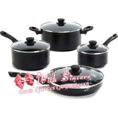 Non Sitck Cookware Made Of Aluminum Alloy Gl Lid And Bakelite Handle Good Quality Factory Price