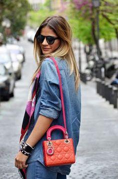 Lady Dior Mini 2017 Street Style