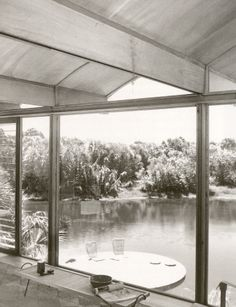 Ingram Hook Guest Residence. 1953. Siesta Key, Sarasota Florida. Paul Rudolph. photo by Ezra Stoller