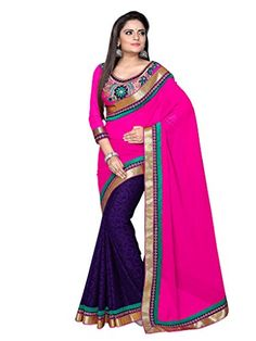 Shoppingover Indian Bollywood Party wear Saree with Blous... https://www.amazon.com/dp/B01N0XDD1T/ref=cm_sw_r_pi_dp_x_NTkCybTXT5SXE