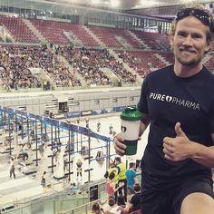 Cheering on all (PurePharma) athletes At @crossfitgames Meridian Regionals in Madrid.  Thank you for the Gear @121eliasson  #CrossFit #CrossFitGames #PurePharma #PurePharmaSweden #Ambassador #PeterLarsson #ElToroLoFit #Regionals #ThisIsFLAWD #FLAWD #constantlyvariedhighintensityinstagrampictures #crossfitregionals #crossfitgamesmeridianregionals #RossFit #