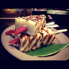 Roti bakar - tesate, indonesia