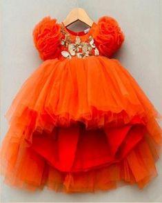 Little Girl Pageant Dresses, Kids Party Wear Dresses, Kids Dress Wear, Baby Girl Party Dresses, Kids Gown, Dresses Kids Girl, Kids Wear, Kids Outfits, Baby Frocks Designs