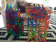 Magnetic construction sets