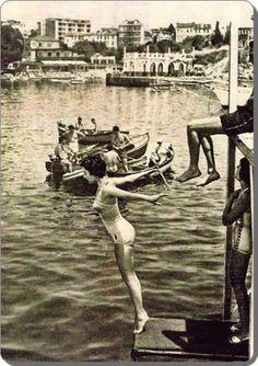 Moda plajı, 1950'ler