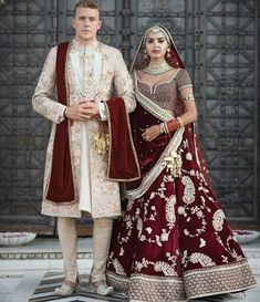 Ideas Indian Bridal Lehenga Red Brides Wedding Outfits For 2019 Indian Bridal Outfits, Indian Bridal Lehenga, Pakistani Bridal Wear, Wedding Lehnga, Desi Wedding Dresses, Bridal Dresses, Wedding Sherwani, Punjabi Wedding Suit, Bollywood Wedding