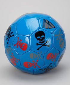 When little ones dream of bending it like Beckham, give them this cool soccer ball to dribble around the park. Practice makes perfect, and even the greats had to start with baby steps.
