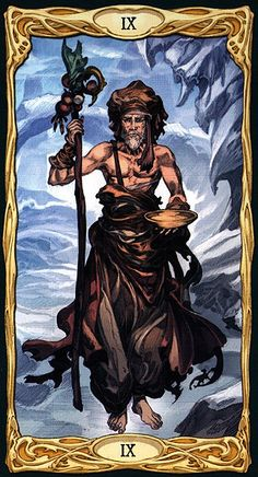 The Hermit - Epic Tarot
