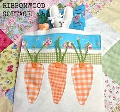 I'm going to use this, with alterations, to make a cute Easter dish towel!