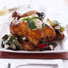 How to Bake Chicken - Doing this Tonight for a 4 & 1/2 lb chicken.