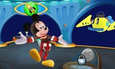 Disney's first Imagicademy app is Mickey's Magical Maths World.