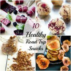 10 Healthy Road Trip Snacks|Craving Something Healthy