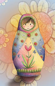Babushka  by Kristy Spring-Brown