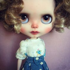 Custom Blythe Doll by Blythe & Shine OOAK Curly par BlytheandShine